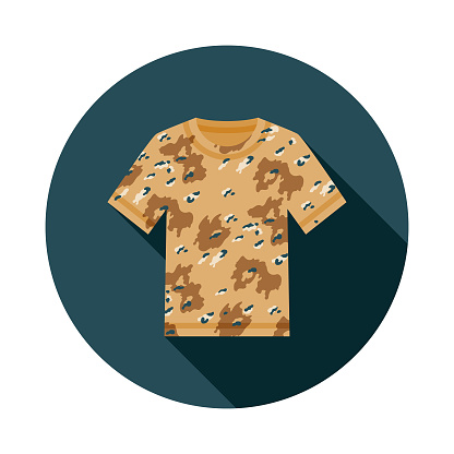 Paintball Camouflage T-Shirt Icon