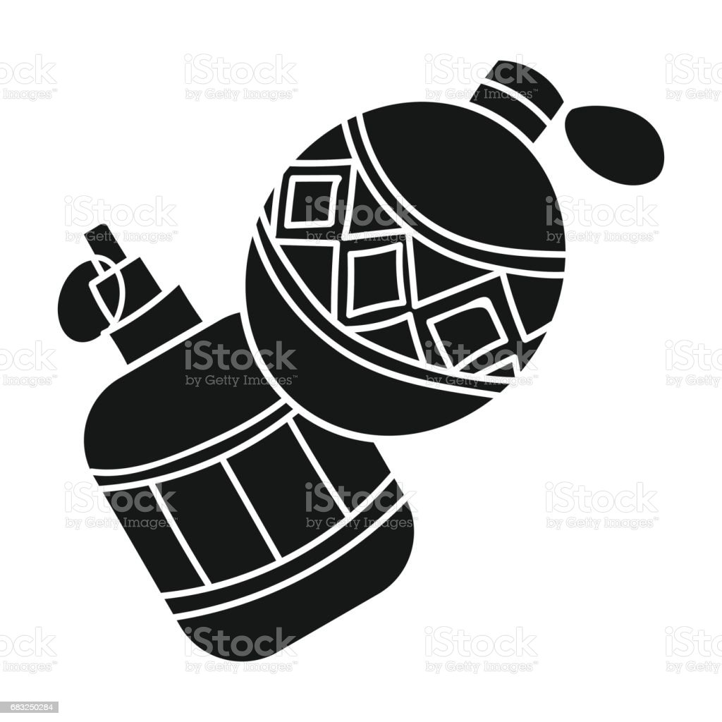 Paintball hand grenade icon in black style isolated on white background. Paintball symbol stock vector illustration. royalty-free paintball hand grenade icon in black style isolated on white background paintball symbol stock vector illustration 겨냥에 대한 스톡 벡터 아트 및 기타 이미지