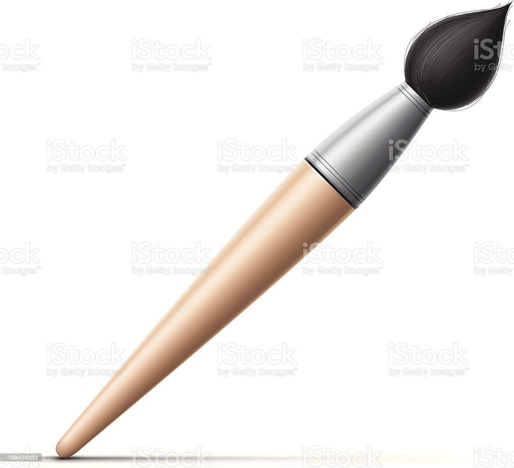 Paintbrush Icon royalty-free stock vector art