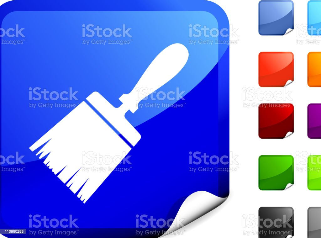 Paintbrush internet royalty free vector art royalty-free paintbrush internet royalty free vector art stock vector art & more images of black color
