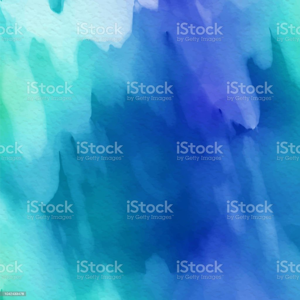 Painted background with a detailed watercolor texture vector art illustration