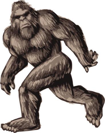 painted bigfoot