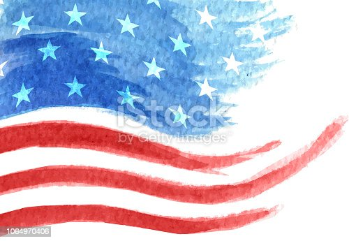 american flag waving stars and stripes