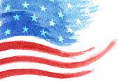 american flag waving stars and stripes