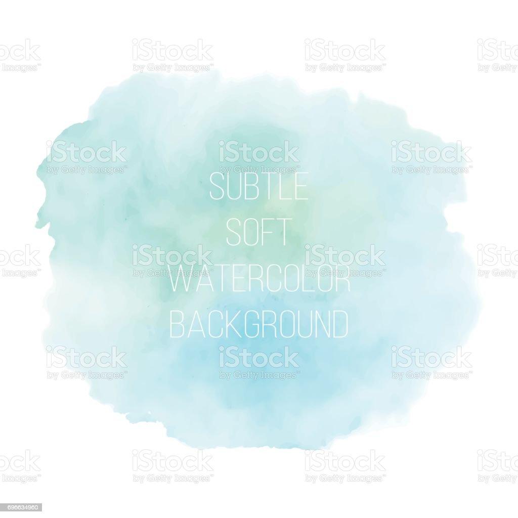 Fondo acuarela pintado azul del mar. - ilustración de arte vectorial