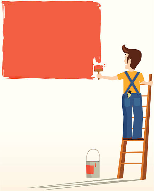 Painter Decorator Sign Stock Vector: Royalty Free Commercial Painter Clip Art, Vector Images