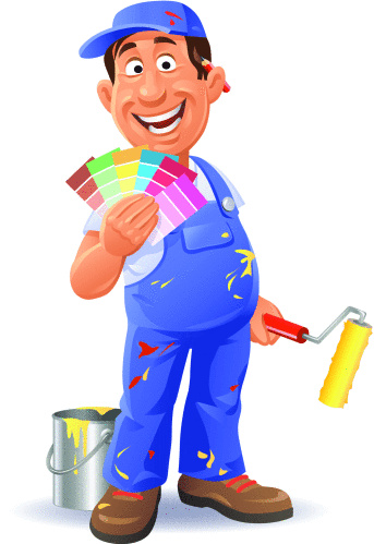 Painter With Color Swatch