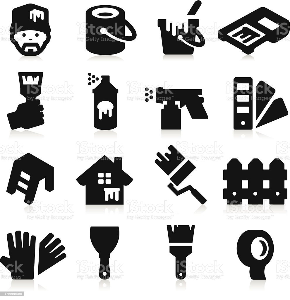 Painting Icons royalty-free painting icons stock vector art & more images of adhesive tape