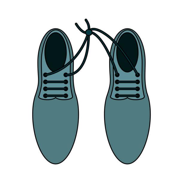 pair of elegant shoes - square foot garden stock illustrations, clip art, cartoons, & icons