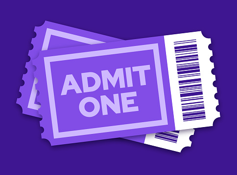 Pair of Tickets to a Movie Show or Other Entertainment Event