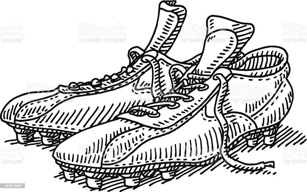 Scarpe Da Calcio Da Disegnare