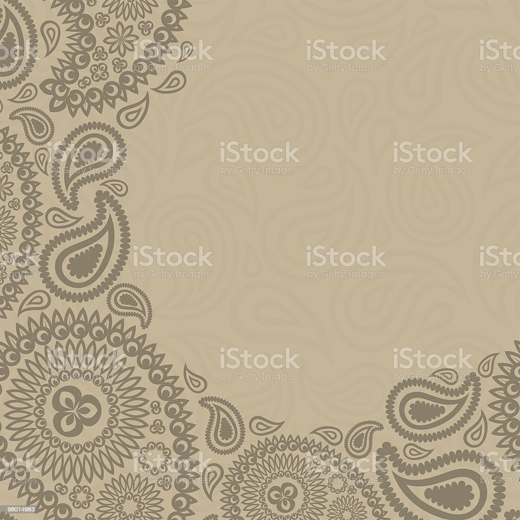 Paisley background royalty-free paisley background stock vector art & more images of backgrounds