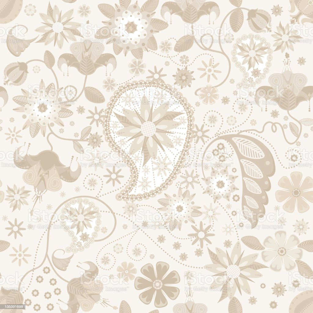 Paisley Cream Colored Lace Stock Vector Art & More Images ...