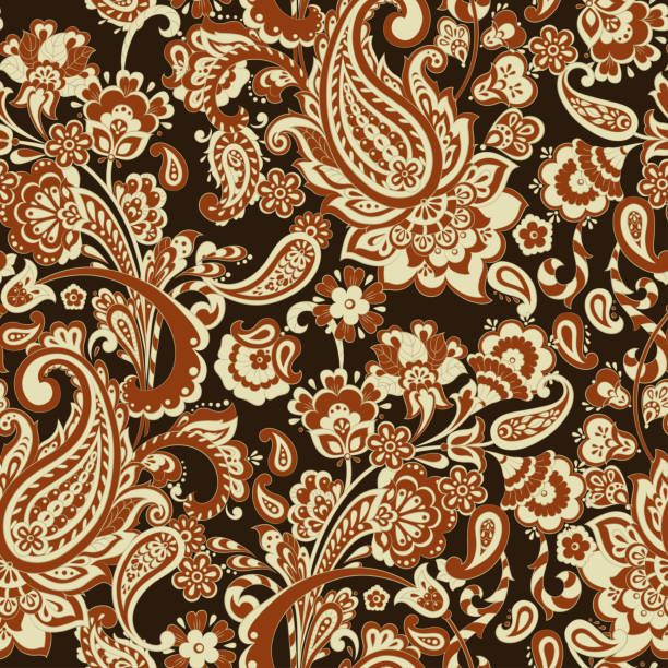 paisley floral oriental ethnic pattern seamless arabic ornamen stock illustration download image now istock https www istockphoto com vector paisley floral oriental ethnic pattern seamless arabic ornamen gm1069155568 285988415