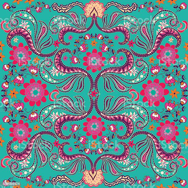 Paisley seamless texture with colorful flowers and leaves vector vector id532559424?b=1&k=6&m=532559424&s=612x612&h=w y4ee8ryklrzn6chpppoi4vfbzfqcbzsw1vpblysly=