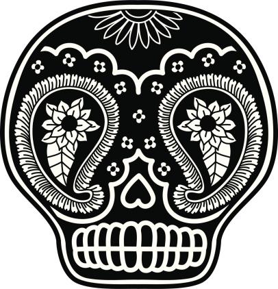 Paisley Skull