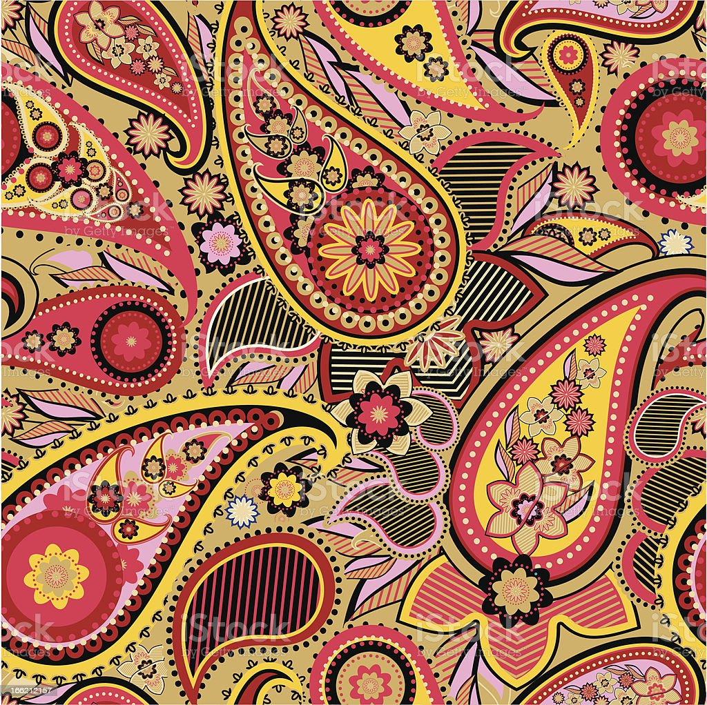 Paisley royalty-free paisley stock vector art & more images of asia