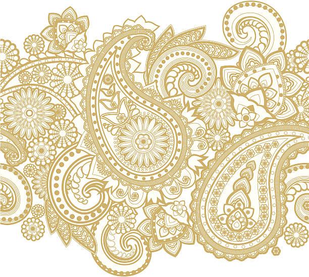 Paisley - ilustración de arte vectorial