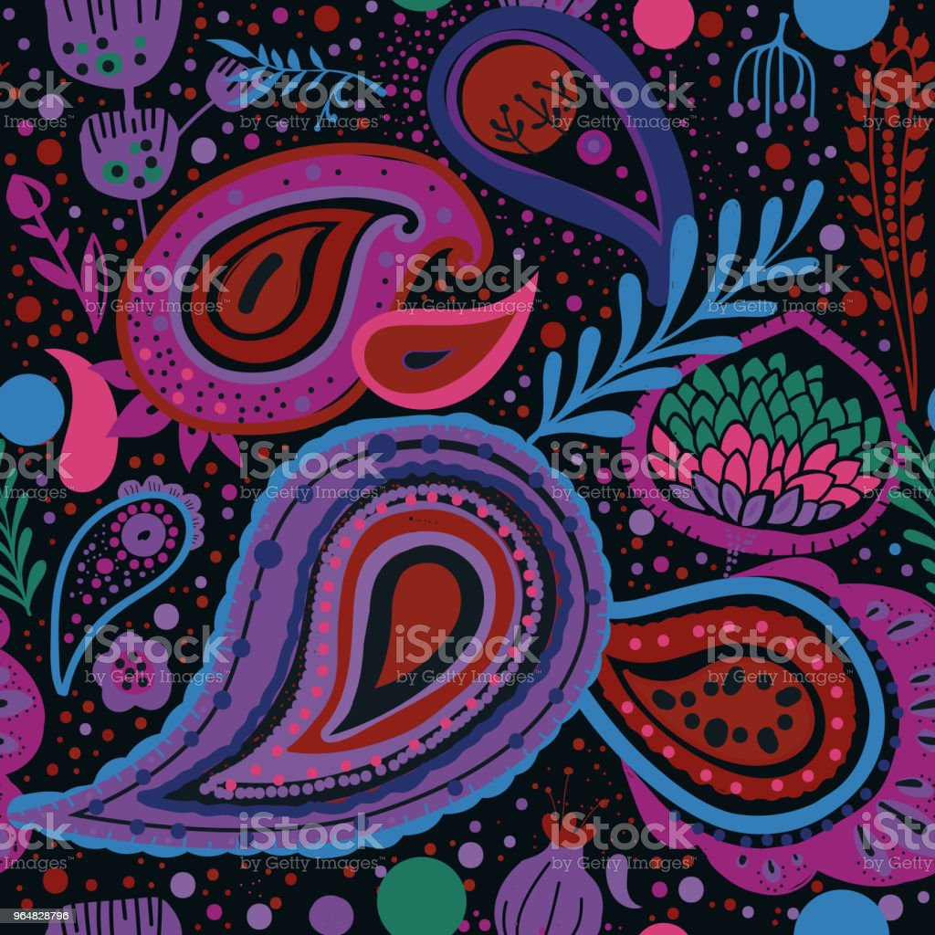 Paisley royalty-free paisley stock vector art & more images of backgrounds
