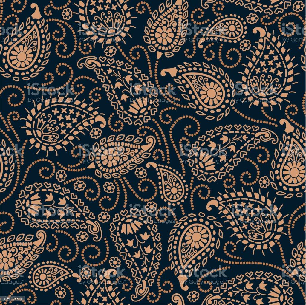 PAISLEY_pattern vector art illustration
