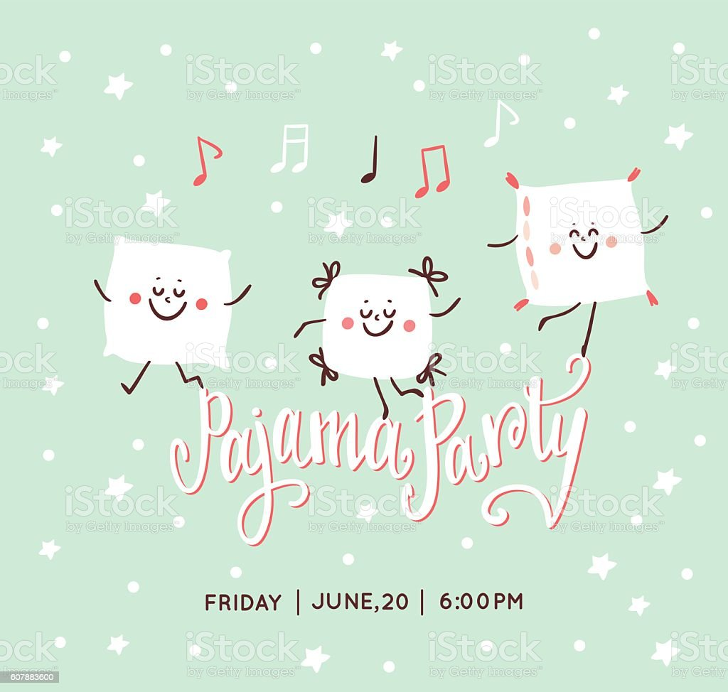 Royalty Free Pajama Party Clip Art, Vector Images & Illustrations ...