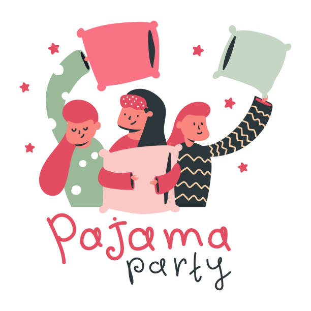 party art pajama Adult clip