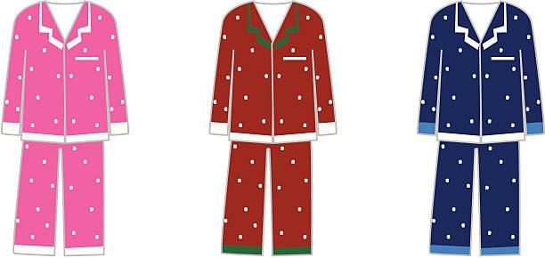 pajamas - heather mcgrath stock illustrations