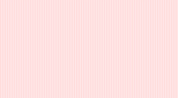 Pale pink stripes seamless pattern. Classic backdrop for invitation card, wrapper and decoration party (wedding, baby girly shower, birthday) Cute wallpaper. Princess style child room. Gift wrap paper bedroom backgrounds stock illustrations