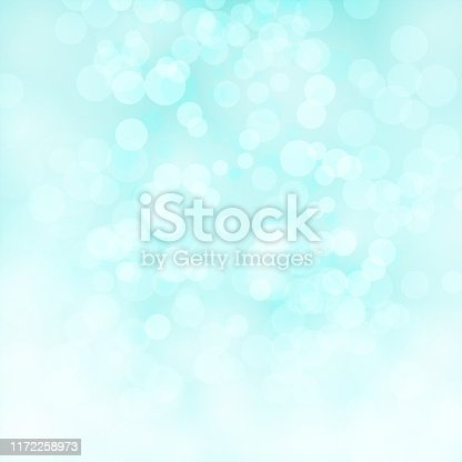 Soft pastel blue colour shining star square background stock photo. Looks like twinkling lights light shiny background. Vignette, vignetting, copy space. No people. No text. Apt for party, Xmas, Christmas, New Year's eve, birthday party celebration backdrop, wallpaper,  romantic gift wrapping paper. A bright white light brightens up the centre, middle or center of the frame. Dark centre or middle, or centre and light, lighter corners