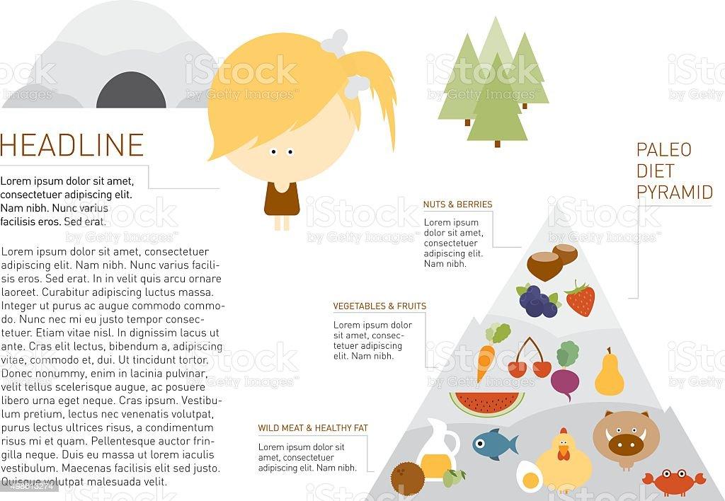 パレオの食事風景のレイアウト 2015年のベクターアート素材や画像を