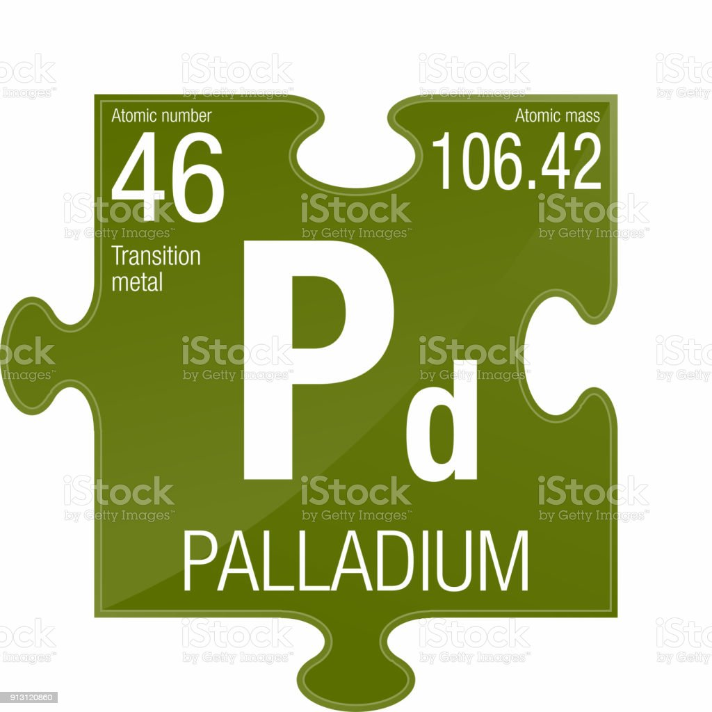 Palladium symbol element number 46 of the periodic table of the palladium symbol element number 46 of the periodic table of the elements chemistry royalty urtaz Images