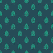 Palm Leaf Christianity Seamless Pattern