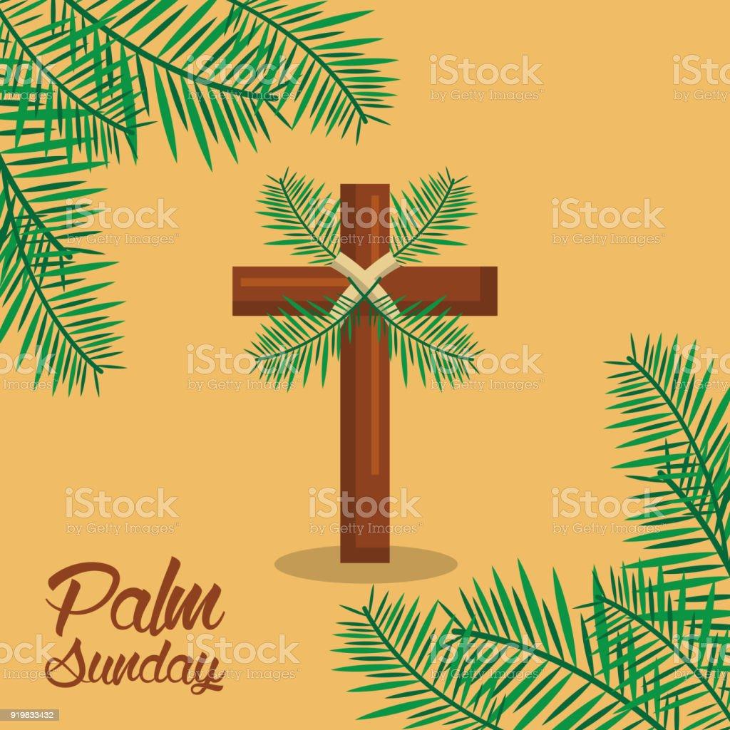 ヤシの日曜日聖週祭典神聖です -...