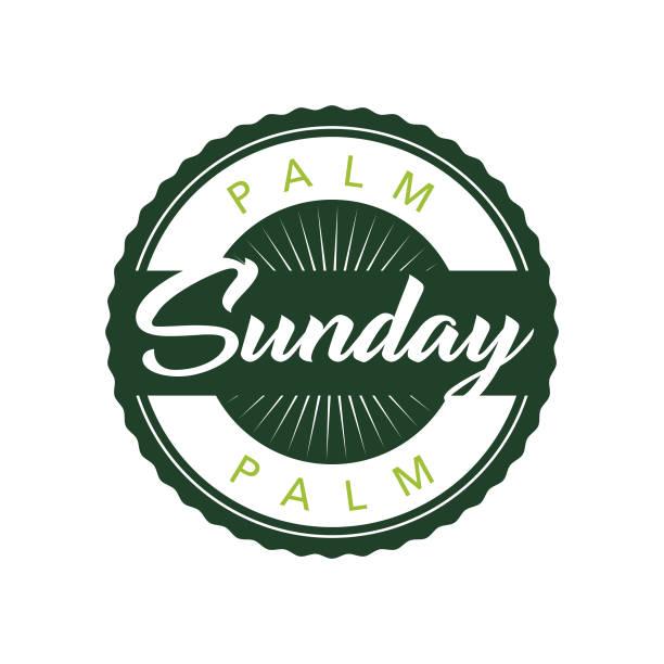 palm sunday - palm sunday stock illustrations, clip art, cartoons, & icons