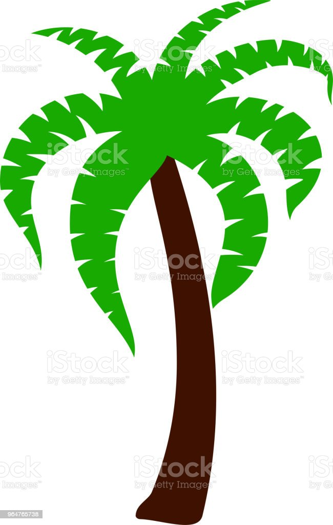 Palm tree illustration royalty-free palm tree illustration stock vector art & more images of august