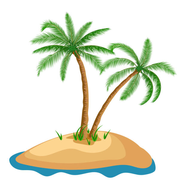 Screen Printing Basics Palm Desert: Top 60 Oasis Clip Art, Vector Graphics And Illustrations