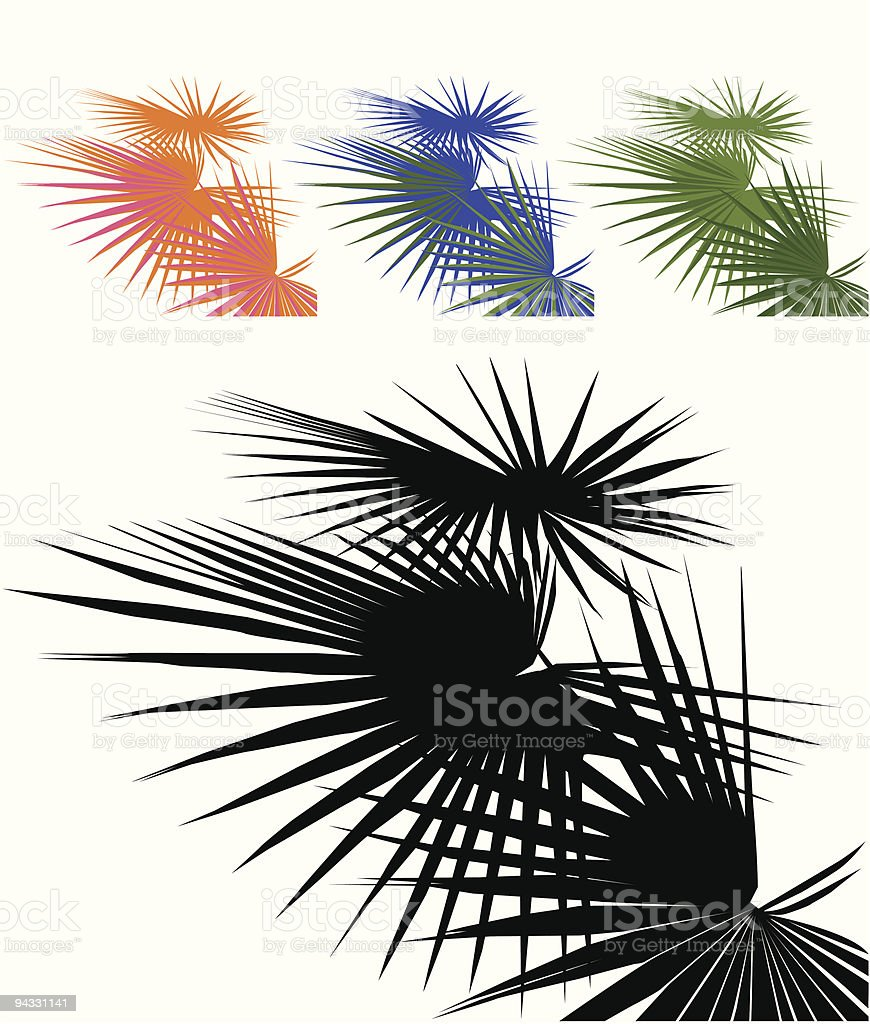 Palm Tree leafs royalty-free palm tree leafs stock vector art & more images of abstract