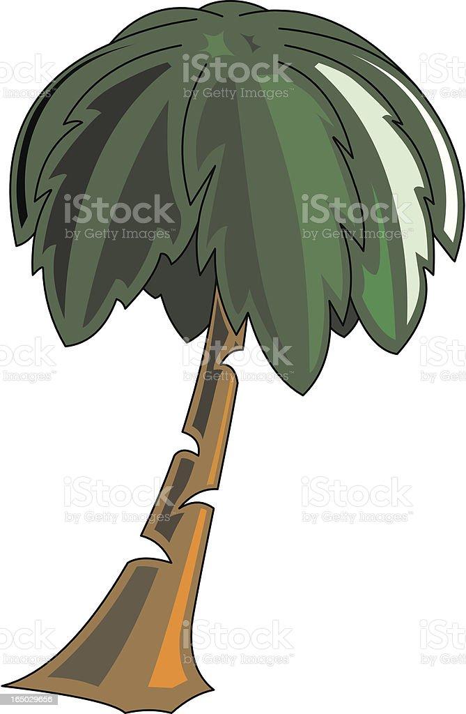 Palm Tree royalty-free stock vector art