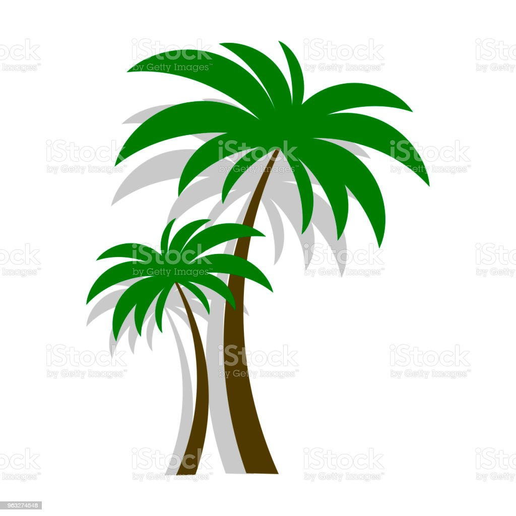 palm tree vector stock vector art more images of beach 963274548 rh istockphoto com palm tree leaves background vector free vector palm tree leaf