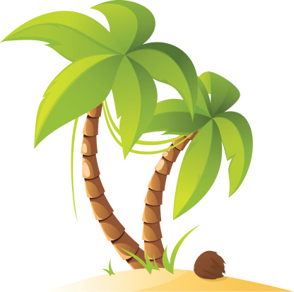 Palm Trees Stock Illustration - Download Image Now