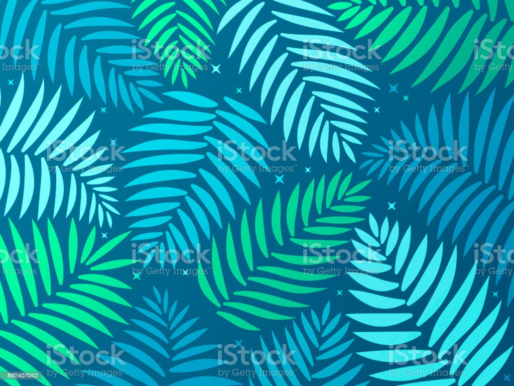 Palm Tropical Background