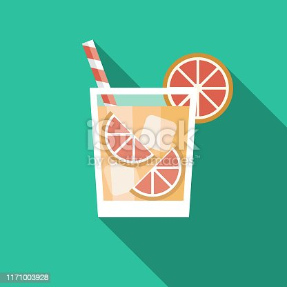 istock Paloma Cocktail Mexican Drink Icon 1171003928