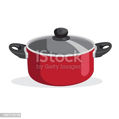Pan vector kitchenware or cookware vector