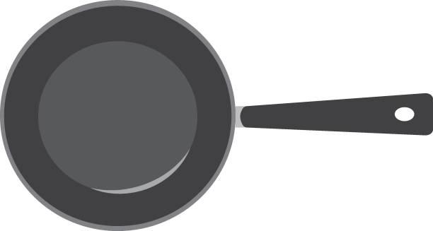 bildbanksillustrationer, clip art samt tecknat material och ikoner med pan. vektor - frying pan