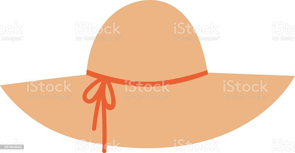 royalty free sun hat clip art vector images illustrations istock rh istockphoto com clip art hat clip art hats and gloves