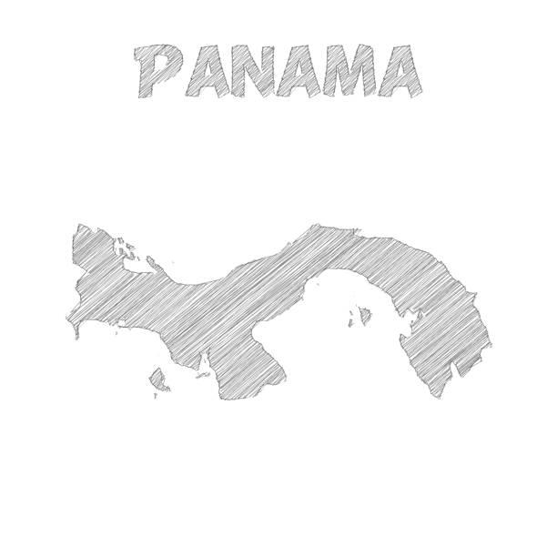 Royalty Free Panama City Clip Art Vector Images Illustrations - Panama map vector