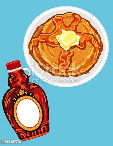 Pancake Breakfast Background