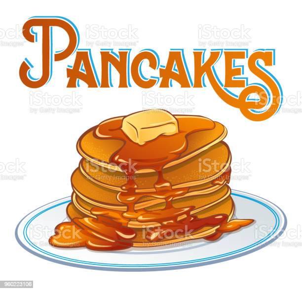 パンケーキのポスター - おやつのベクターアート素材や画像を多数ご用意