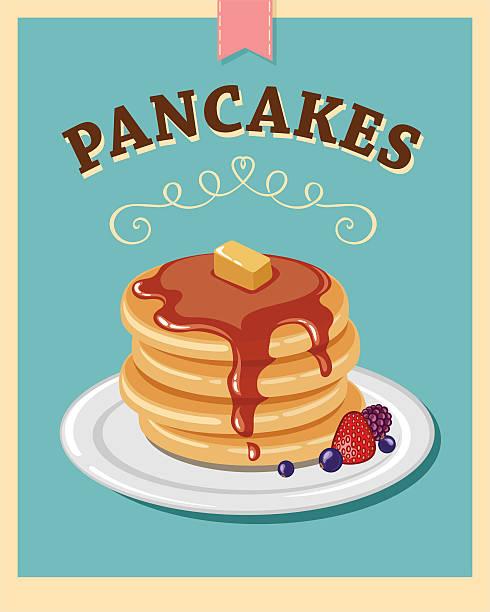 パンケーキ - パンケーキ点のイラスト素材/クリップアート素材/マンガ素材/アイコン素材