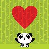 Panda bear. Please, you can see more of my original work in my lightboxs:http://i681.photobucket.com/albums/vv179/myistock/ani2.jpgv